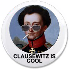 Clausewitz is Cool 3.5-inch button